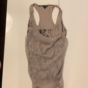 Sequin draped top from Guess